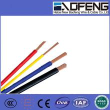 China Single Core 1.5mm to 16mm PVC Insulated Flexible Cable (RV) accord with IEC standard on sale