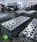 Perforated  Curtain Wall Aluminum Cladding Insulation Panels  Solid  Facade Covering