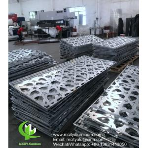 Perforated  Curtain Wall Aluminum Clad Insulation Panels  Solid  Facade Covering