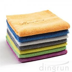 China Non - Abrasive Microfiber Cleaning Towel Easy Carrying  For Home 30 * 30cm on sale