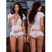 Sheer Satin Eco Friendly Knot Personalised Bridal Underwear