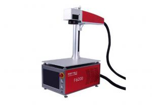 China high speed  mini tabletop fiber laser marking machine for singapore on sale