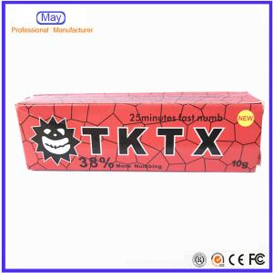 China NEW TKTX38% Anaesthetic Numb Cream pain relief cream No Pain Painless Pain Killer Pain Stop For Tattoo Removal on sale