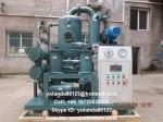Insulating Oil Filtration Equipment/Vacuum Transformer Oil Water Separator ZYD-D