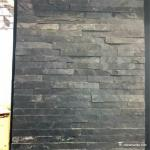 No Toxicity Black Slate Wall Stone Cladding Corrosion And Wear Resistance