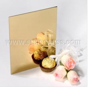 China PVD Gold COATED MIRROR STAINLESS STEEL SHEETS on sale