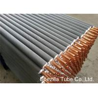 11 FPI Extruded Fin Tube / Heat Exchanger Finned Tube 25000MM Length