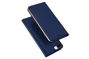 China PU Leather iPhone 7 Plus Protective Cases Smooth Magnet Card Holder on sale