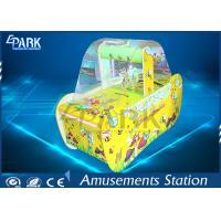 China Kids Play Bee Battle Lottery Ball Arcade Racing Game Machine Yellow on sale