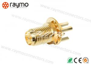 China Interconnections Sma Male Femal Connector Low Reflections 50 Ohm Impedance on sale