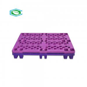 18 Legs Plastic Stacking Pallets Superior Nesting Ratio For Cargo Transport