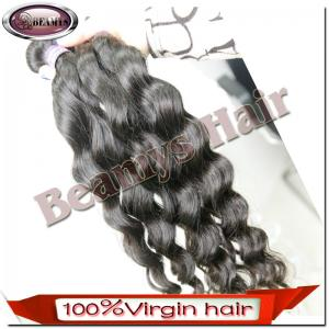 China top grade virgin brazilian hair weave with full cuticles,no shedding no tangled on sale