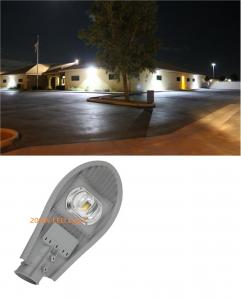 China IP65 200W Outdoor LED Street Lights 3000K / 6500K 130LM/W COB Light Source on sale