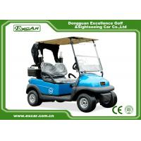 China EXCAR 2 Seater Electric Golf Carts Disc Brake Technology golf car With Bages & Car Cover on sale