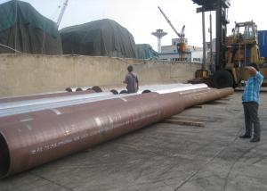 China 34'' 864mm OD Hot Rolled Steel Pipe , Alloy Steel Pipe SCH 40 - 140mm WT on sale
