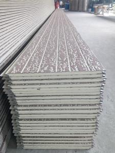 Quality Exterior Metal Cladding Wall Panel Polyurethane Insulation Wall  Panel For Sale