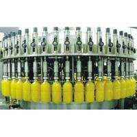 China Carbonated Soft Drink Filling Machine , Aluminum Tin Can Gas Beverage Production Line on sale