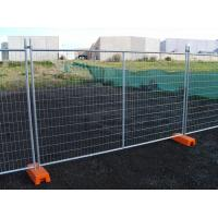 China Hot Dipped Galvanized Temporary Fence Convenient Installation for Construction Site on sale