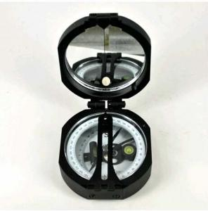 China Black Survey Instruments' Accessories Geology Metal Compass With Mirror on sale