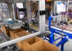 High Speed Case Packing Equipment For Bottled Foods And Snacks Packaging