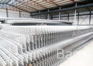 Bar Concrete Welded Reinforcing Wire Mesh Panels Crack