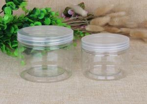 China 500ml Plastic Mason Jar PP Lid Plastic Storage Tubes Round Hot Stamping on sale