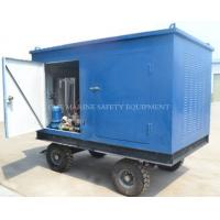 high pressure water blasting machine with pumps