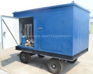 China high pressure water blasting machine with pumps on sale