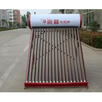China Evacuated tube collector solar water heating system on sale