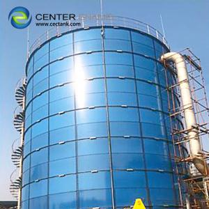 China Glass-Fused-to-Steel Bolted Steel Water Tanks for Farms & Agricultural Use on sale