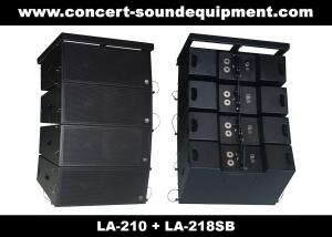 China Concert Sound Equipment / 680W Line Array Speaker With1.4+2x10 Neodymium Drivers on sale
