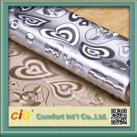 Embossed Design Plastic PVC Table Cloth Flora Pattern Waterproof