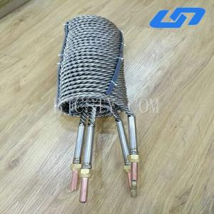 China Titanium double coil heat exchanger for mariculture on sale