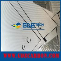GDE thinckness customized real carbon fiber sheet/laminated sheet 100% carbon fiber board/
