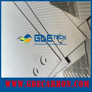 China Custom CNC Carbon Fiber Plate For Drone Glossy Surface on sale