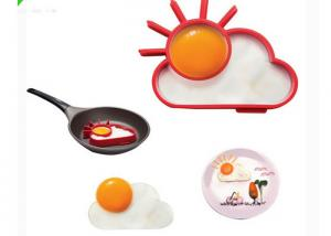 China DIY Funny Making Silicone Egg Ring Mold Apply Frying Egg Tool on sale