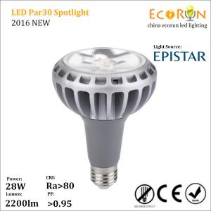 China LED E27 spot lamp cup PAR30 30w 85-265V 2500lm 35degree on sale