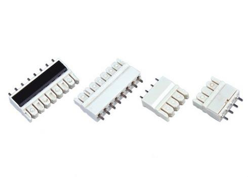 Tremendous 4 Pin 3 81Mm Pcb Idc 110 Idc Connector White 110 Punch Down Wiring 101 Tzicihahutechinfo