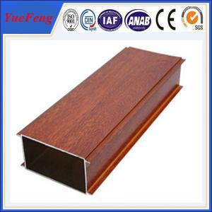 China Hot Sale Wood Grain Aluminium Alloy Pipes, aluminum tubes extrusion on sale