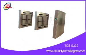 China Automatic Subway Turnstile swing barrier gate for wheelchairs , 316 stainless steel on sale