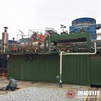 China Diesel Engine Waste Heat Exhaust Gas Hot Water Boiler on sale