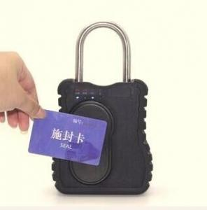 China ZC120 Realtime Safety Lock Out GPS Tracking Padlock , GPRS Container Tracker GSM Padlock on sale