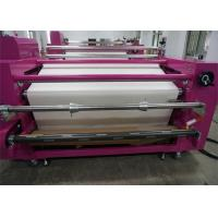China Air - Pressure Correct Edge Roller Heat Press Machine For Child Clothes SGS on sale