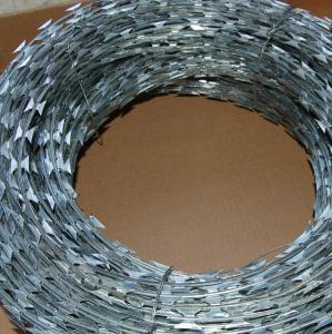 China 工場価格かみそりの鉄条網かみそりの有刺鉄線/アコーディオン式かみそりワイヤー on sale