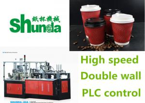 China Durable Ice Cream / Coffee High Speed Paper Cup Machine 4 Tons on sale
