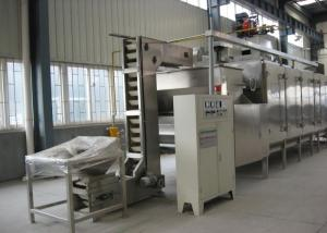 China Soybean Cashew Nut Roasting Machine , Continuous Peanut Drying Equipment on sale