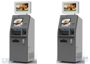 China Payment Kiosks With Magnetic Card Dispenser / ATM Kiosk With Bill Acceptor on sale