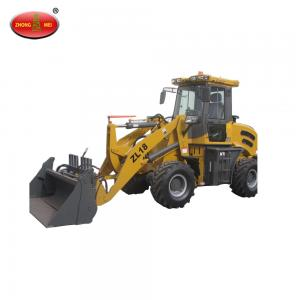 China Building Construction Machinery Road Construction Machinery ZL18 1.8T Mini Hydraulic Wheel Loader on sale
