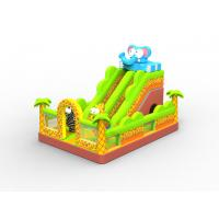 China 2014 funny indoor/outdoor inflatable jumper slide,happy hop inflatable water slide for kids on sale