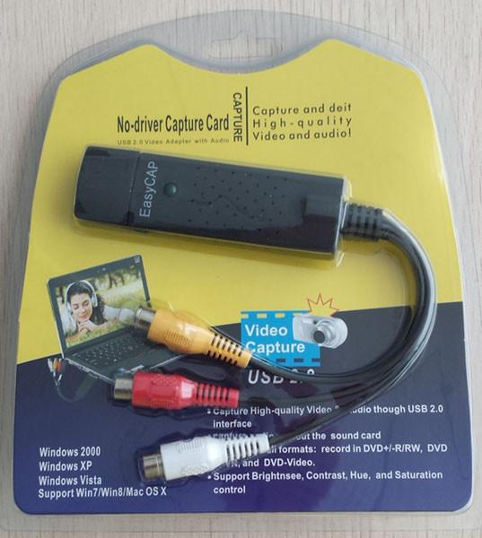 driver easycap usb 2.0 video adapter with audio